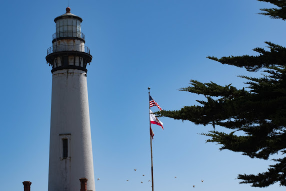 Lighthouse near Pescadero, CA