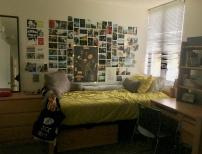 my sophomore year room, fall